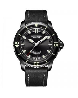 极光 深海 精钢 蓝色表盘 超级夜光 潜水男士运动腕表 RGA3035-BBB