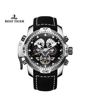 极光 概念 夜光 精钢黑色表盘 运动男士腕表 RGA3503-YBBLB