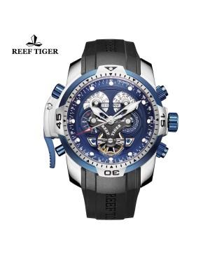 极光 概念 夜光 精钢蓝色表盘 运动男士腕表 RGA3503-YLBB