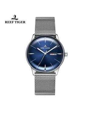 经典 传承 精钢 蓝色表盘 时尚男士腕表 RGA8238-YLY