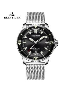 瑞夫泰格/RT自动机械表强夜光潜水表军工级品质RGA3035