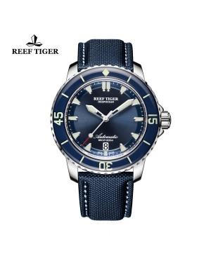 极光 深海 精钢 蓝色表盘 超级夜光 潜水男士运动腕表 RGA3035-YLL