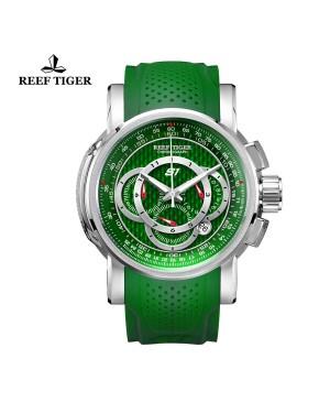 极光 极速 精钢绿面 赛车表 运动男士腕表 RGA3063-YNB